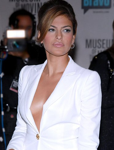 Eva Mendes Glam Up-Do