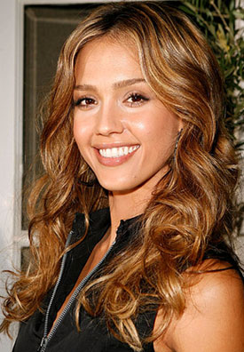 jessica alba hair color