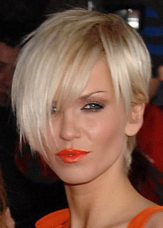 "Sarah Harding Sexy Short Bob This ""pixie"" cut is not for the faint-hearted"